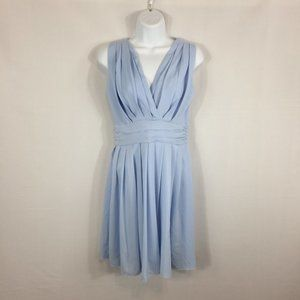 Blue Grecian Style Short Party Dress from Korean S